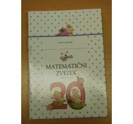 Matematični zvezek do števila 20