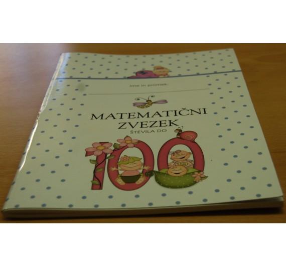 Matematični zvezek do števila 100