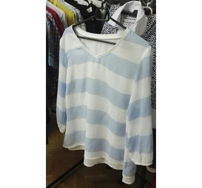 Modro pisana srajca