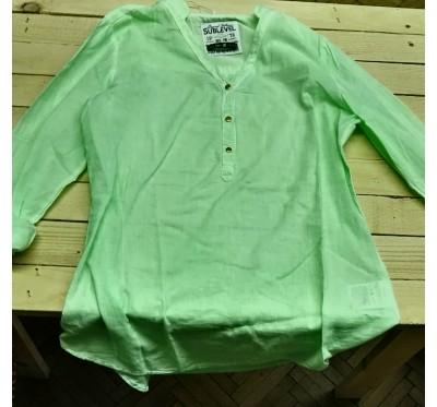 Zelena lahkotna srajca